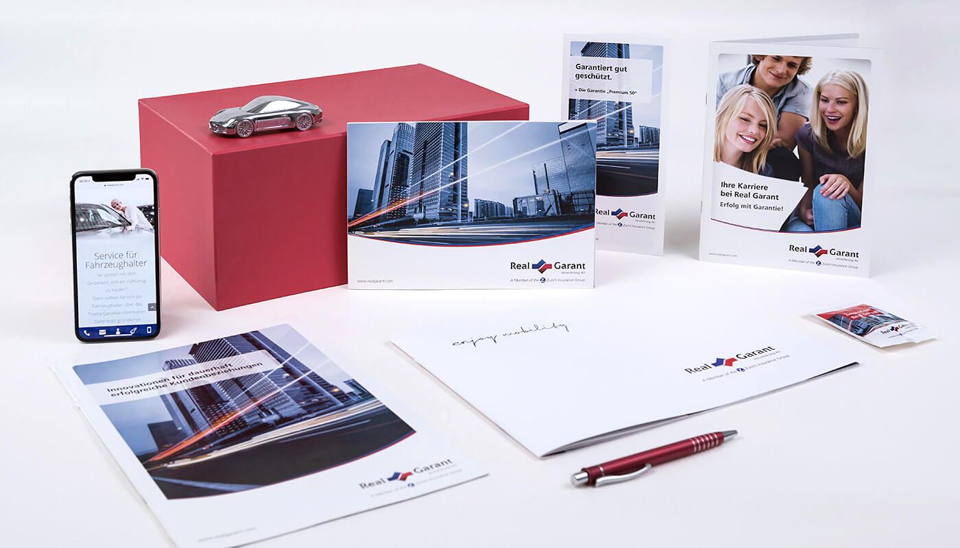 full service agentur stuttgart - dt media group - real garant versicherung ag