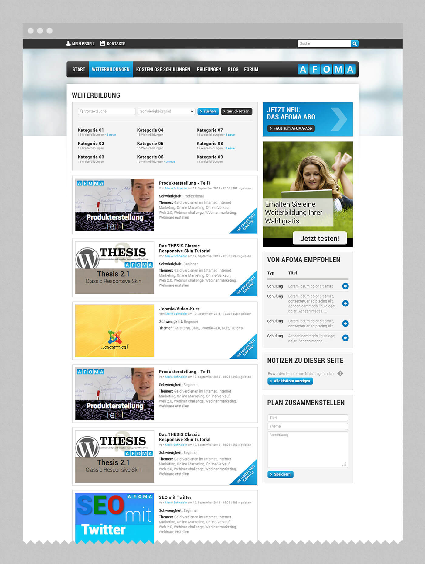webdesign stuttgart - dt media group - afoma
