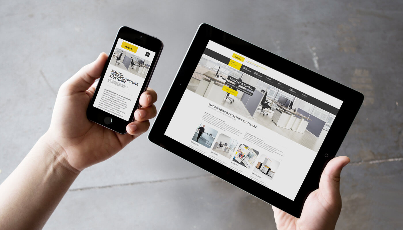 webdesign stuttgart - dt media group - mauser archive