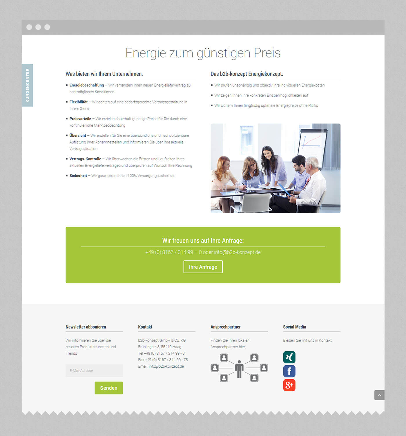 web designer stuttgart - dt media group - b2b konzept